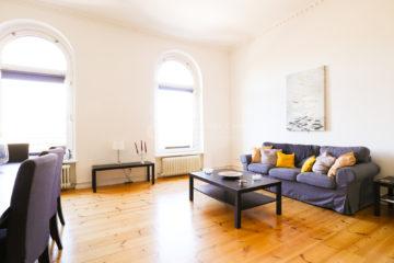 Quartier Zwei – Exklusive 5,5 Zimmer Altbauwohnung mit Aufzug., 10785 Berlin, Dachgeschosswohnung